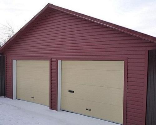 Збірний гараж з металоконструкцій