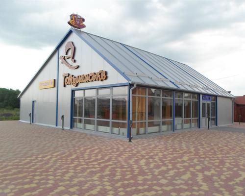 Модульний магазин із сендвіч-панелей за доступною ціною