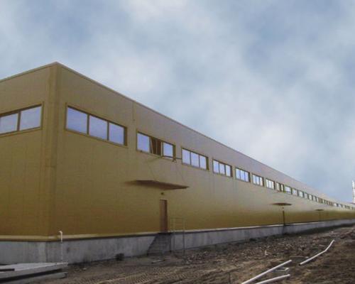 Збірна промислова будівля за доступною ціною