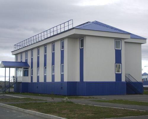 Промислові модульні будівлі з металоконструкцій