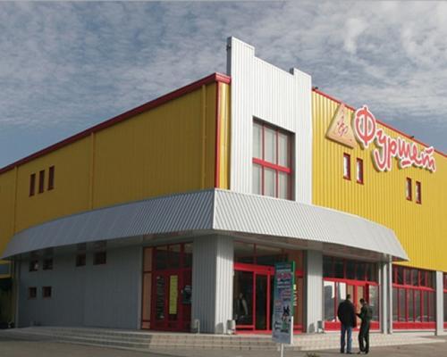 Супермаркет з металоконструкцій