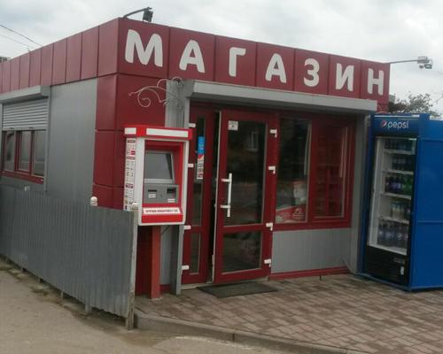 Збірний магазин з металоконструкцій